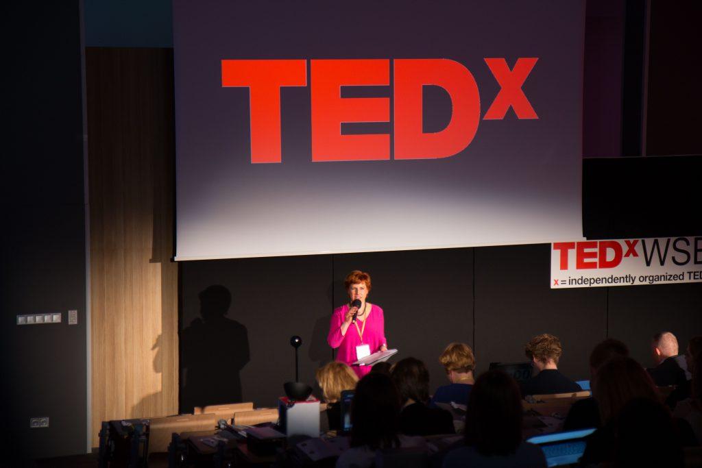 TEDxWSB Agnieszka Lipka