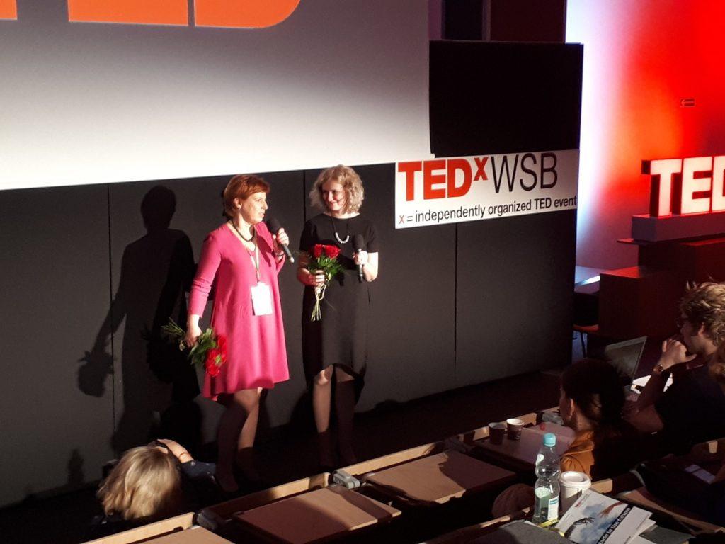 TEDxWSB Agnieszka Lipka iDanuta Studencka-Derkacz