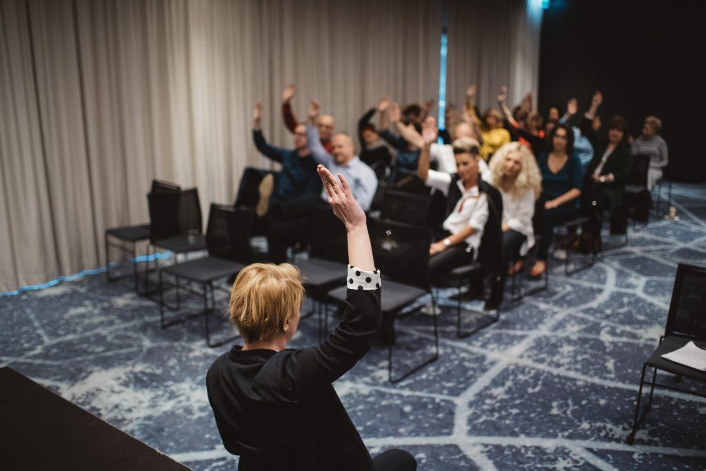 teatr interaktywny - rozgrzewki