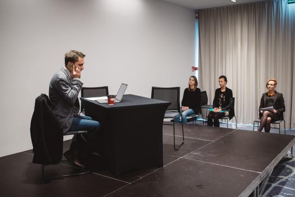 spektakl interaktywny dlamenedżerów - scena 1